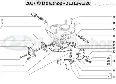 N3 Carburateur deksel