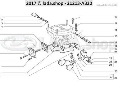 N3 Tapa del carburador