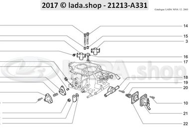 N3 Carburetor body 2