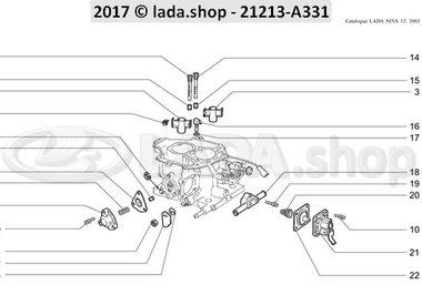 N3 Cuerpo del carburador 2
