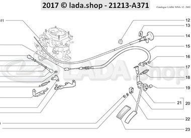 N3 Gaspedaal aandrijving CARB-RHD