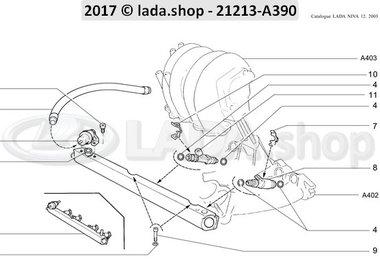 N3 Fuel rail and injectorsMPFI