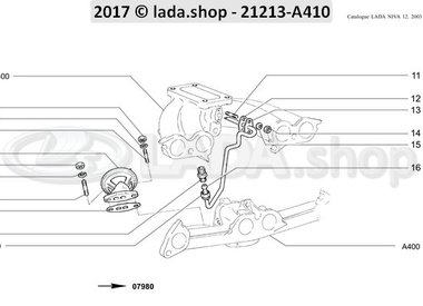 N3 Válvula EGR Carburador 1600
