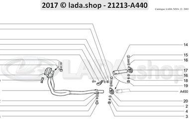 N3 Auspuffröhre ohne Katalysator CARB 1700