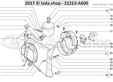 N3 Radiador e expansão tanque CARB