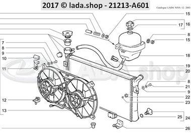 N3 Tanque de expansão e radiador TBI