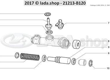 N3 Hoofd koppeling cilinder
