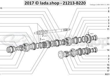 N3 Gearbox gears