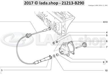 N3 Câble du compteur de vitesse CARB