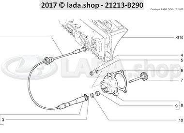 N3 Tachometerantrieb CARB