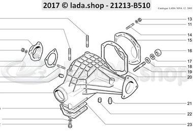 N3 Achsgetriebegehäuse und –deckel