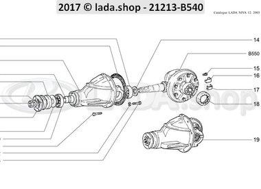 N3 Hinterachsgetriebe und –differential