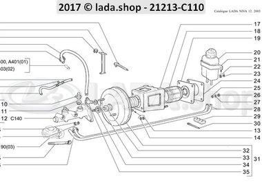 N3 Hauptteile des Bremsantriebs