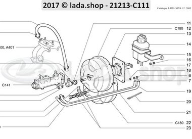 N3 Brake drive components RHD BB2103