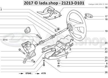 N3 Steering column >>> 01-1999