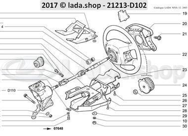 N3 Steering column AIRBAG >>> 01-1999