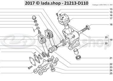 N3 Steering mechanism reducer