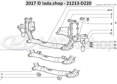 N3 Suspensão dianteira transversal