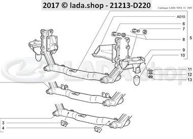 N3 Traverse de suspension avant