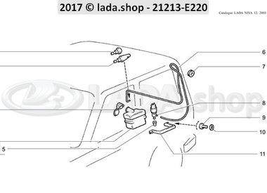 N3 Lavador da porta traseira