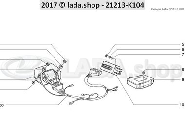 N3 Módulos de controle eletrônico CARB