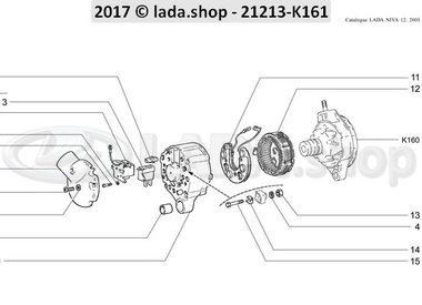 N3 Alternador CARB-B