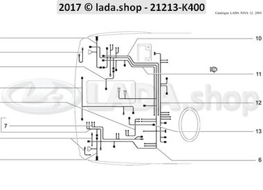 N3 Mazos de cables del compartimiento del motor