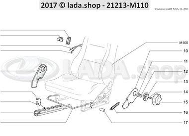 N3 Mecanismo de instalación de los asientos delanteros