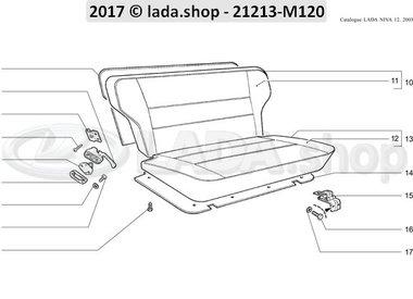 N3 Assento traseiro