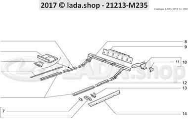 N3 Karosserieboden-Gerippe