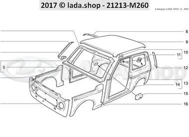 N3 Paneles de la carrocería