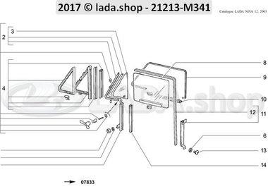 N3 Front door windows >>> 02-1999