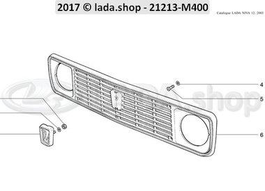 N3 Guarnição de radiador