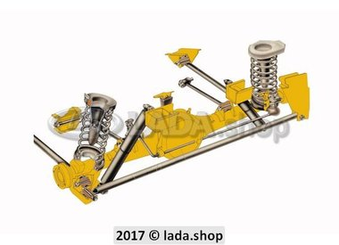 N3D3. Rear suspension