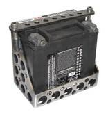 Batteriekasten für kundenspezifisches Motorrad mit Speedholes - Stahl