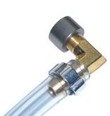 Peilslang set voor benzine of olie - Messing