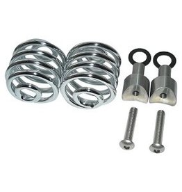 "Seat Springs Chrome 2"" with mounting set"