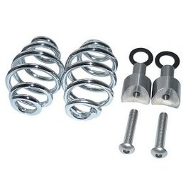 "Seat Springs Chrome 3"" with mounting set"