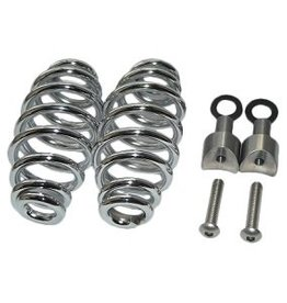 "Seat Springs Chrome 5"" with mounting set"