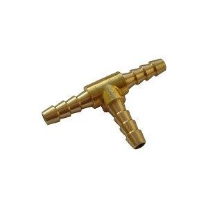 Hose pillar T-piece Ø6 Brass