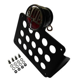 Side Mount  licence plate holder with LED STOP tail light