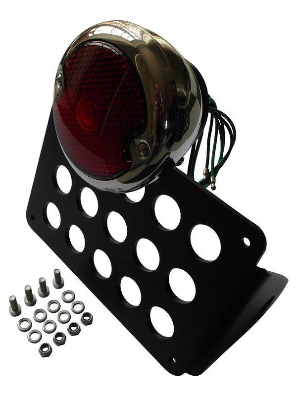 Side Mount kentekenplaathouder met Moon 33-36 Ford lamp
