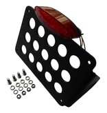 Side Mount  License plate holder for Motorcycle with Mini LED tail light