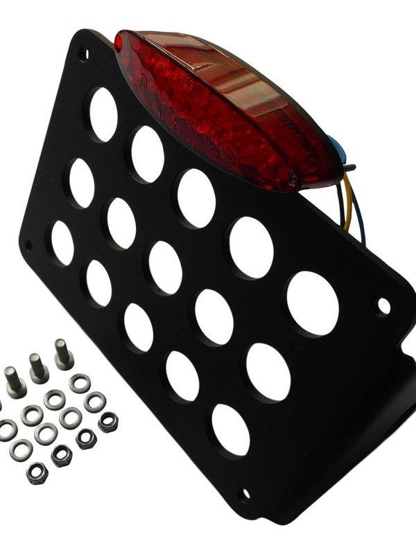 Side Mount kentekenplaathouder met Mini LED lamp