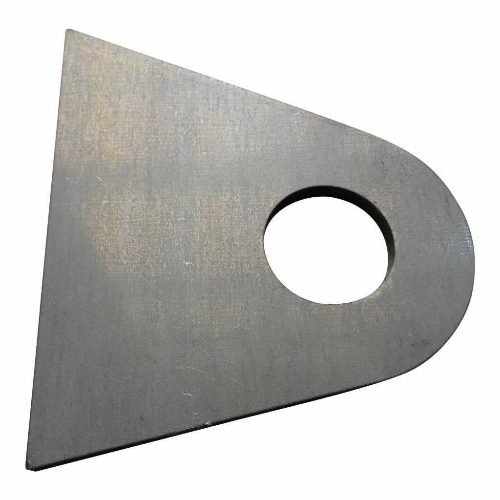 Unterstützung für seitlich montierte Kennzeichenhalter - Stahl - Sie müssen dies selbst schweißen