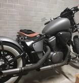 Hairpin Motorrad Sitz-Federn Chrom 2 Zoll
