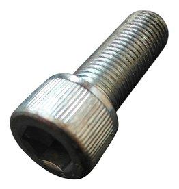 Galvanized steel Allen bolt 3/8 UNF - 24 x 1 inch