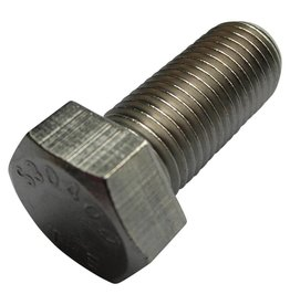 Hexagon bolt S/S 7/16 UNF - 20 x 1 inch