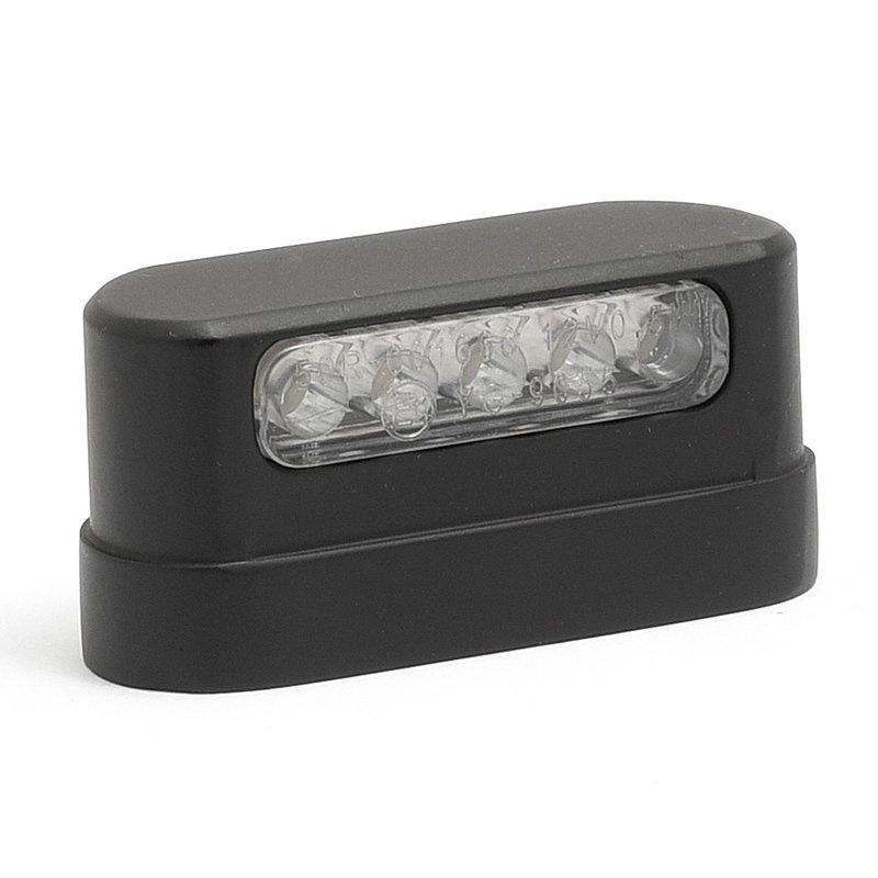 Motorcycle License Light LED -  Aluminum housing