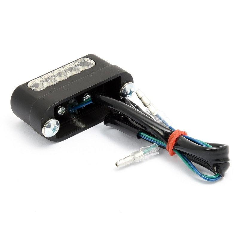 Motorrad Kennzeichenleuchte LED - Aluminiumgehäuse
